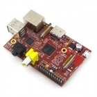 Raspberry Pi 512 MB B-Typ Project Board w / Acrylic Case - Red