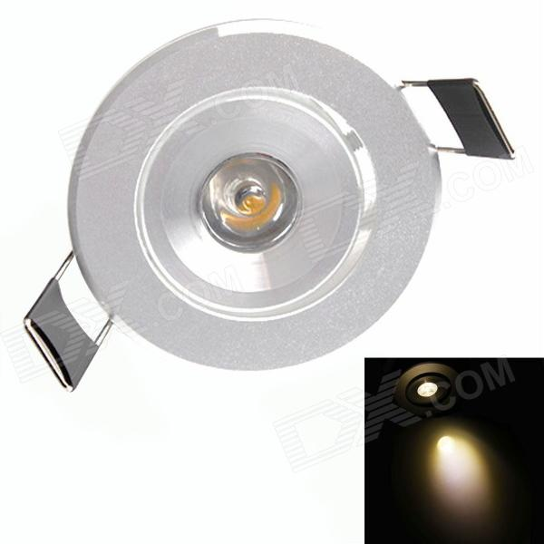 HESION HS02001 1W 90lm 3000K Warm White Light Spotlight - Silver