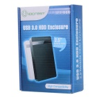 "IOCREST SI-ENC25031 USB 3.0 2.5"" mobiili HDD kotelo - musta"