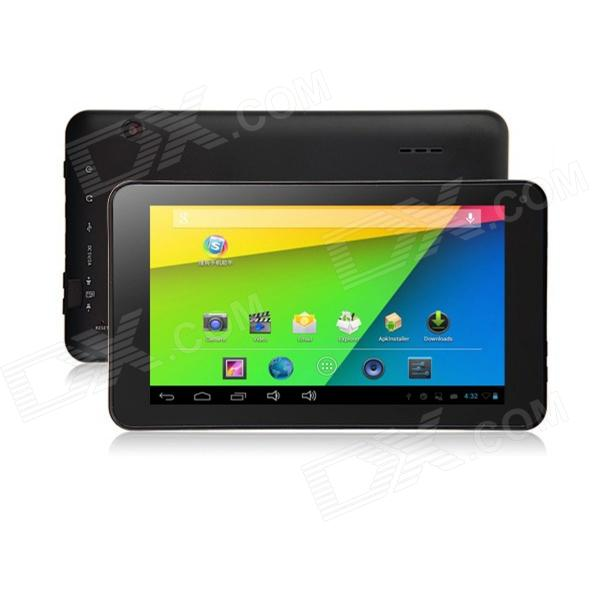 "iPEGTOP A702 7 ""Dual-Core-Android-Tablet-PC 4,22 w / 512MB RAM, 4GB ROM, TF, Dual-Kamera - Schwarz"