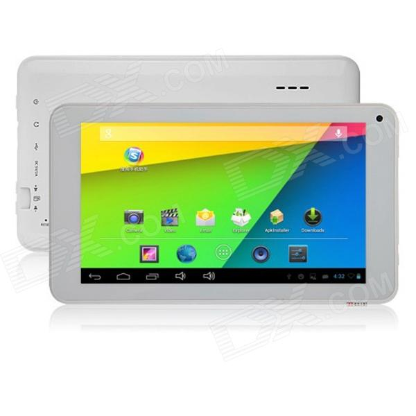 "iPEGTOP A703 7 ""Dual-Core-Android-Tablet-PC 4,22 w / 512MB RAM, 4GB ROM, TF, Frontkamera - Weiß"
