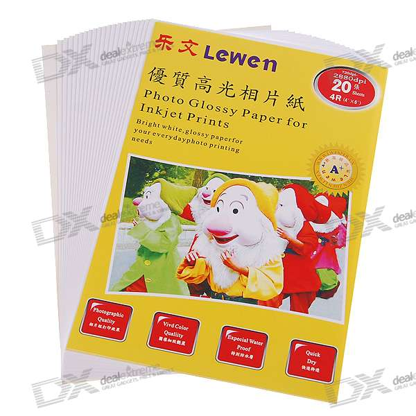 4-x-6-4r-glossy-photo-paper-20-sheet