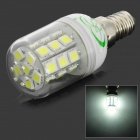 XYT 5.4W E14 540lm 27-SMD 5050 LED Cold White Corn Light (120~265V)