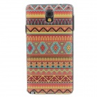 Fashion National Style Coloured Drawing Protective Plastic Back Case for Samsung Galaxy Note3 N9005