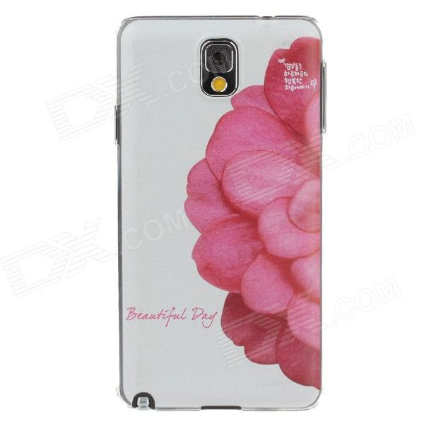 Fashion Coloured Drawing Pattern Protective Plastic Back Case for Samsung Galaxy Note3 N9005 cm001 3d skeleton pattern protective plastic back case for samsung galaxy s4