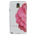 Fashion Coloured Drawing Pattern Protective Plastic Back Case for Samsung Galaxy Note3 N9005