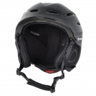 moon MS-90 Outdoor Skiing Protective Helmet - Black (L)