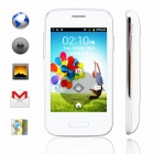 "M-HORSE 9500mini SC6820 1.0GHz Android 2.3 GSM Bar Phone w/ 3.5"" Capacitive, Wi-Fi, 2.0MP - White"
