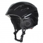 moon MS-90 Outdoor Skiing Protective Helmet - Black (M)