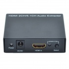 2-CH / 5.1-CH HDMI Audio Extractor - Black