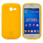 PUDINI LX-7262 Protective TPU Back Case for Samsung S7262 Galaxy Star Pro - Yellow