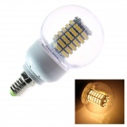 E14 7W 225lm 2800K 138 x SMD 3528 LED Warm White Energy Saving Light Bulb (AC 220~240V)