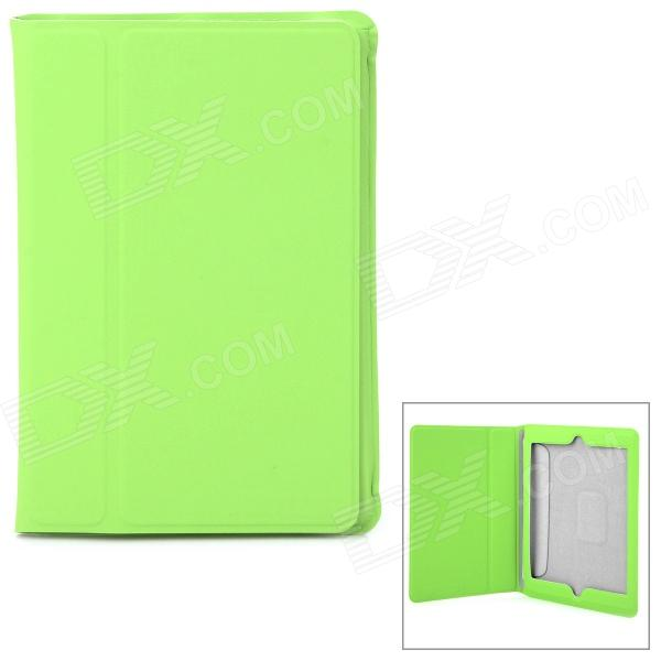 Ultrathin Protective Frosted PU Leather Case for Retina Ipad MINI - Green