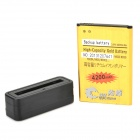 "Replacement 3.8V ""4200mAh"" Battery w/ Charging Dock for Samsung Galaxy Note 3 / N9000 / N9002"
