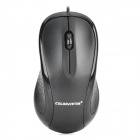 COLORVIS C01 USB2.0 Wired LED 1000dpi Optical Mouse - Black
