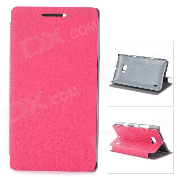 все цены на PUDINI LX-N929 Protective PU Leather Case for Nokia Lumia 929 - Deep Pink онлайн