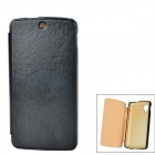 PUDINI LX-GN5 Protective PU Leather + PC Case for LG Nexus 5 - Black