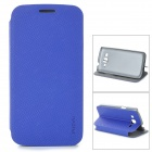 PUDINI LX-G3812 Protective PU Leather Case for Samsung G3812 - Blue