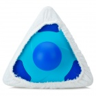 Triangle Shaped Style Car Washer Cleaner - Blue