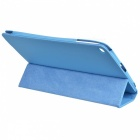 Stylish Protective PU Leather Case w/ Auto Sleep for Ipad AIR - Blue