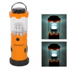 AceCamp 1014 Multi-Function 9-LED 30lm Camping Lantern Light - Orange + Black (4 x AA)