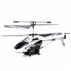 SYMA S107C 3.5-CH Remote Control Helicopter w/ Camera - White + Black (6 x AA)