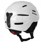 moon MS-90 Outdoor Skiing PC + EPS Protective Helmet - White (Size L)