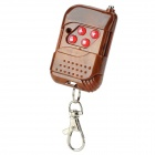 RRR1 4-Key Mutual-Duplicating Remote Controller - Brown + Silver (1 x 27A)