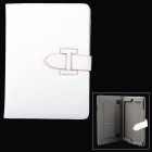 Protective PU Leather Case w/ Stand / Auto Sleep for Ipad AIR - White