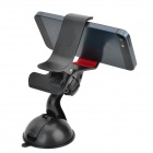 JIMI S-3 Universal 360 Degree Rotation Suction Cup Holder Bracket for Iphone + GPS + More - Black