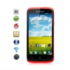 "Lenovo S820 MTK6589 Quad-Core Android 4.2 WCDMA Bar Phone w/ 4.7"", 13.0 MP Camera, 4G ROM - Red"