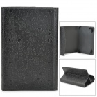"R-7 Cartoon Style Protective PU Leather + ABS Case for 7"" Tablet PC - Black"