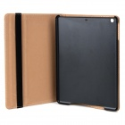 Retro Protective PU + PC Flip-open Case w/ Stand / Auto Sleep Case for Ipad AIR - Black + Brown Grey