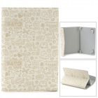 "Cartoon Style Protective PU Leather Case for 7"" Tablet PC - White + Grey"