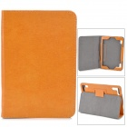 "Stylish Protective PU Leather Case for 7.85"" Tablet PC - Brown"