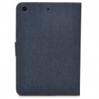 Protective PU + Plastic Case w/ Stand / Auto Sleep for Retina Ipad MINI / Ipad MINI 1 - Black