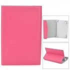 "TY-7 Lychee Grain Style Protective PU Leather + ABS Case for 7"" Tablet PC - Deep Pink"