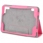 "Stylish Protective PU Leather Case for 7.85"" Tablet PC - Deep Pink"