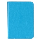 "Stylish Protective PU Leather Case for 7.85"" Tablet PC - Blue"