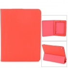 Stylish Protective PU Leather Case for Teclast P88 - Red