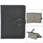 Protective PU Leather Case w/ Stand / Auto Sleep for Ipad AIR - Black