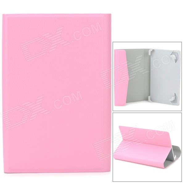 "TY-7 Lychee Grain Style Protective PU Leather + ABS Case for 7"" Tablet PC - Pink"