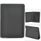 Protective Matte PU Leather Flip-open Case w/ Stand / Auto Sleep for Retina Ipad MINI - Black