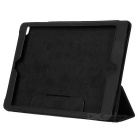 Protective Leather Flip-open Case w/ Stand / Auto Sleep for Ipad AIR - Black