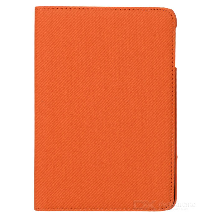 PU Leather + Plastic Case w/ Stand / Auto Sleep for Retina Ipad MINI / Ipad MINI 1 - Orange rear lower arm for 1 5 hpi baja 5b 5t 5sc