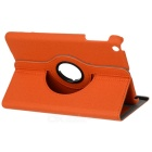 PU Leather + Plastic Case w/ Stand / Auto Sleep for Retina Ipad MINI / Ipad MINI 1 - Orange