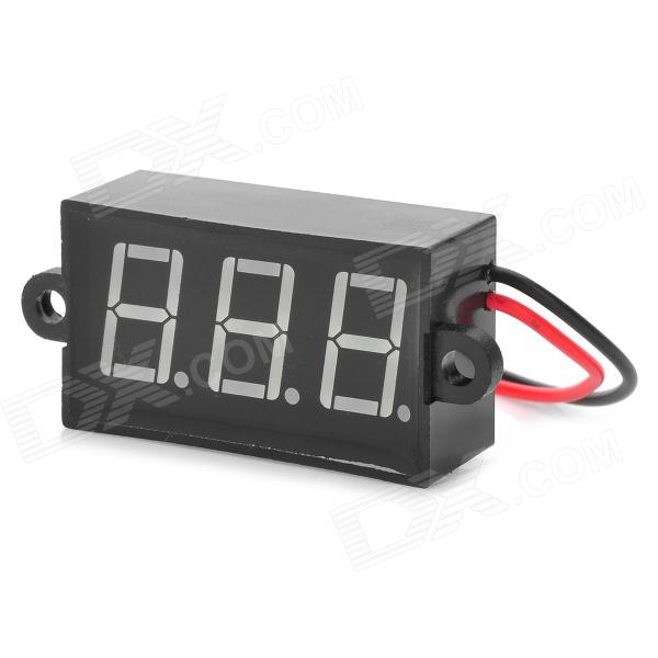"0,6 ""Display LED de 3-Digital duas linhas voltímetro (3,50 ~ 30.0V)"