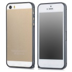 S-What Ultra-thin 0.68mm Aluminum Alloy Protective Bumper Frame for Iphone 5 / Iphone 5S - Blue Grey
