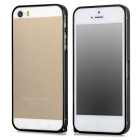 S-What Ultra-thin 0.68mm Aluminum Alloy Protective Bumper Frame for Iphone 5 / Iphone 5S - Black