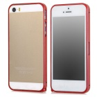 S-What Ultra-thin 0.68mm Aluminum Alloy Protective Bumper Frame for Iphone 5 / Iphone 5S - Red